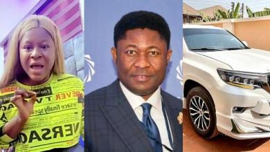 Destiny Etiko reacts to rumour that a man bought her Land Cruiser (Video)