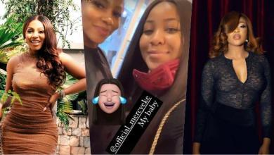 Erica, Mercy Eke create magic moment after linking up at saloon (Video)