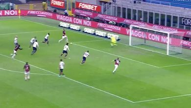 Ibrahimovic brings up incredible milestone with expert finish to give Milan the lead