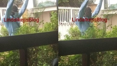 Magistrate sitting in Bode Thomas court asks a man to stand and raise both hands for not wearing his face mask in the courtroom (photos)