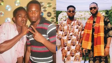 Patoranking celebrates 10-year-old friendship with Flavour (Photos)