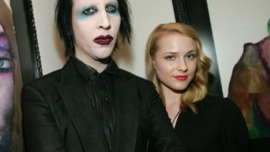 Singer, Marilyn Manson dropped by his record label after his ex-fianc?e Evan Rachel Wood and four other women accused him of leaving them with PTSD?