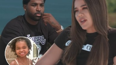 Tristan Thompson reacts to Khloe Kardashian saying she