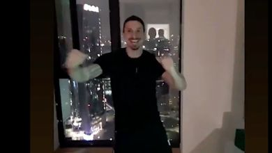 Zlatan Ibrahimovic shows off dancing skills after Milan's 4-0 win over Crotone
