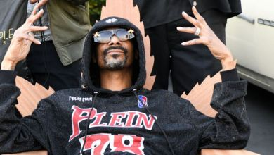 Snoop Dogg Takes Grandson Zion To Classic Car Meet Up In West Hollywood