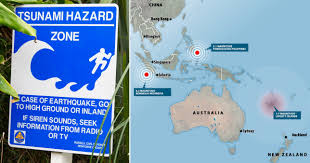 Tsunami warning issued after quake strikes off New Zealand