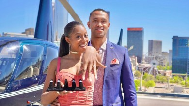 5 engagement rings and a helicopter Couple's flashy proposal goes viral