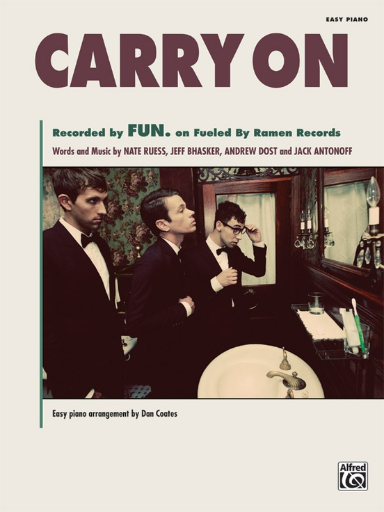 Fun - Carry On MP3 DOWNLOAD.  Fun latest songs Carry Onis available for free download mp3  Listenand download Fun - Carry On (audio) Below: