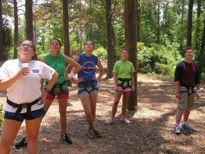 Counselors-in-training - Ready to Climb