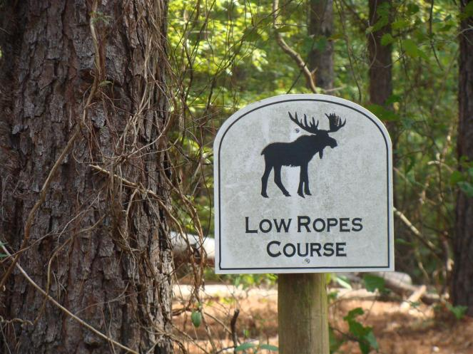 Ropes-Low Ropes Course