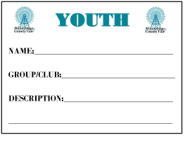 Image of Youth Barn Card