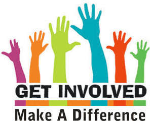 Get Involved! Make A Difference.