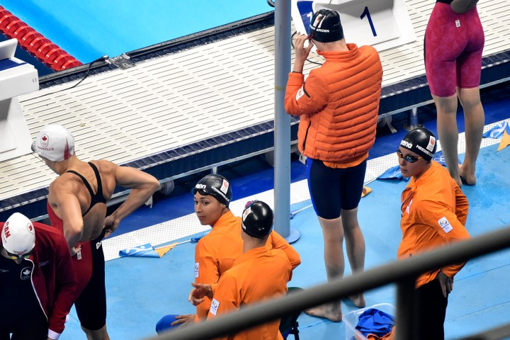 4x100 meter vrij Nederland