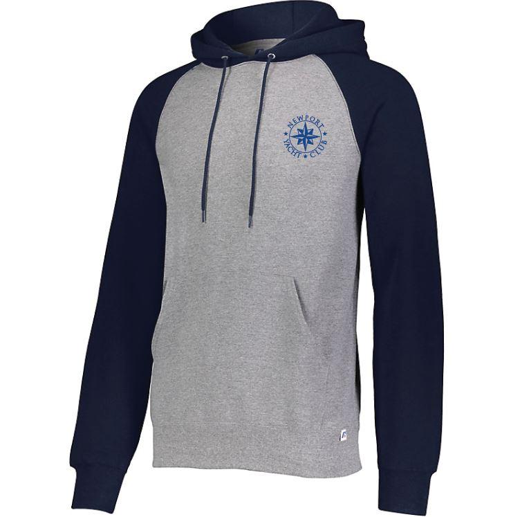 cd7aeed22 NYC Russell Dri-Power Fleece Color block Hoodie – Winners Sportswear