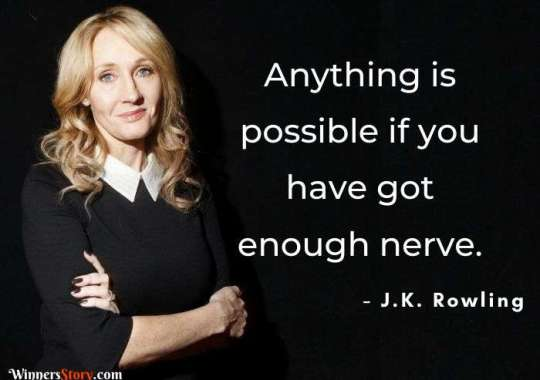 18 Famous Inspirational J.K. Rowling quotes that will add magical strength to your life