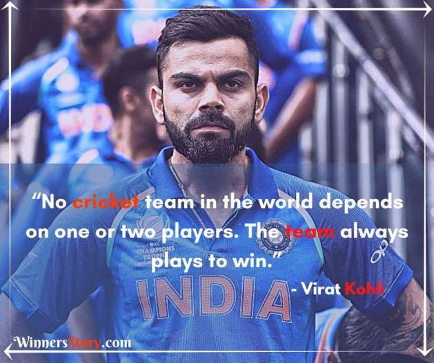 Virat Kohli Inspirational Quotes