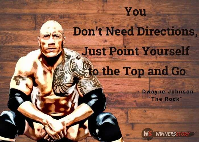 1- the rock quotes