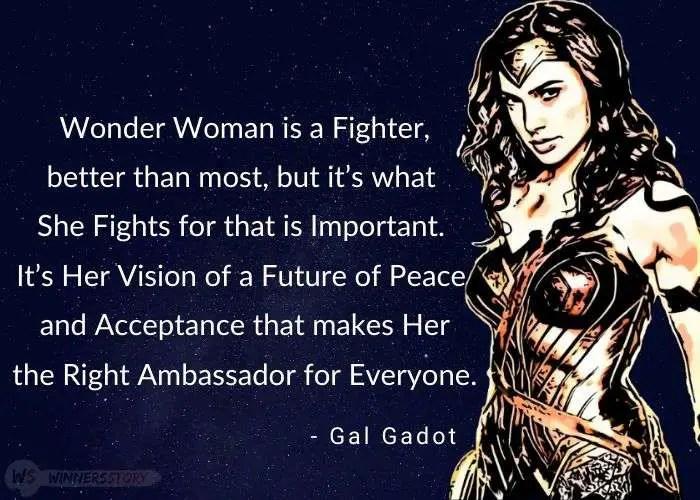6-wonder woman gal gadot quotes