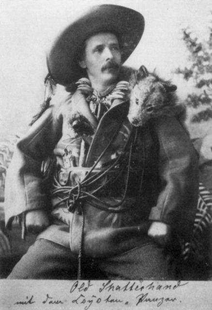 Karl May déguisé en Old Shatterhand