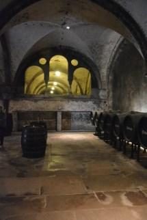 Piwnica Cabinett - to tu w klasztorze powstała słynna nazwa