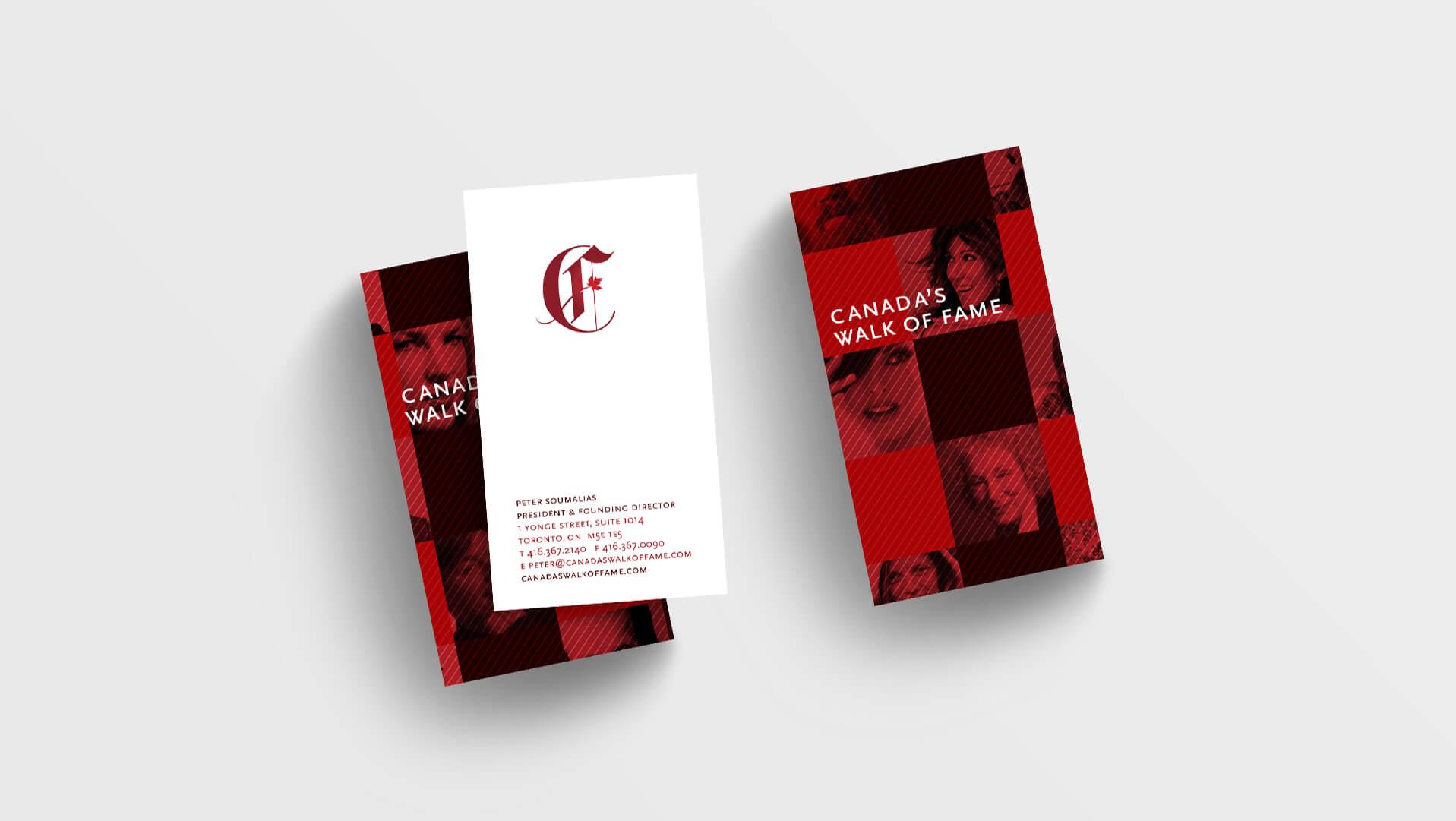 business cards copy