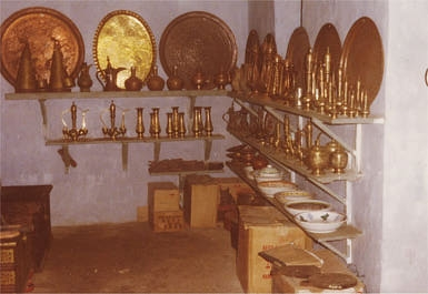 Copper Shop in Kenya (photo by Robin Hutton)