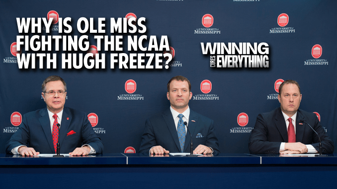 Hugh Freeze: Why is Ole Miss standing with him against the NCAA?