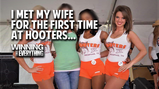 Hooters Memphis: Where I First Met my Wife...