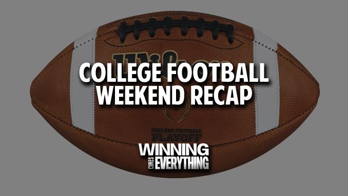 CFB Weekend recap