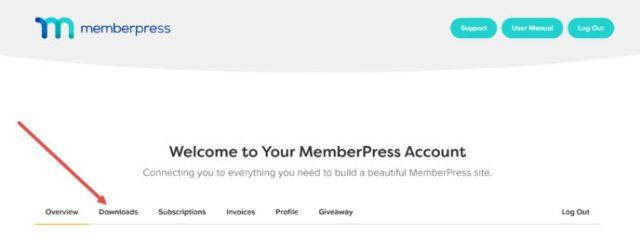 MemberPress review: MemberPress dashboard