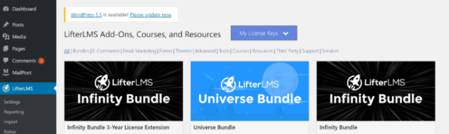 LifterLMS License Key