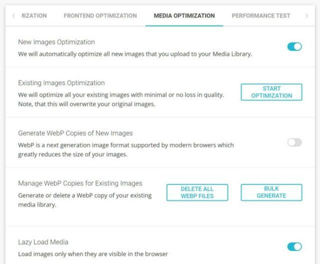 SiteGround Media Optimization