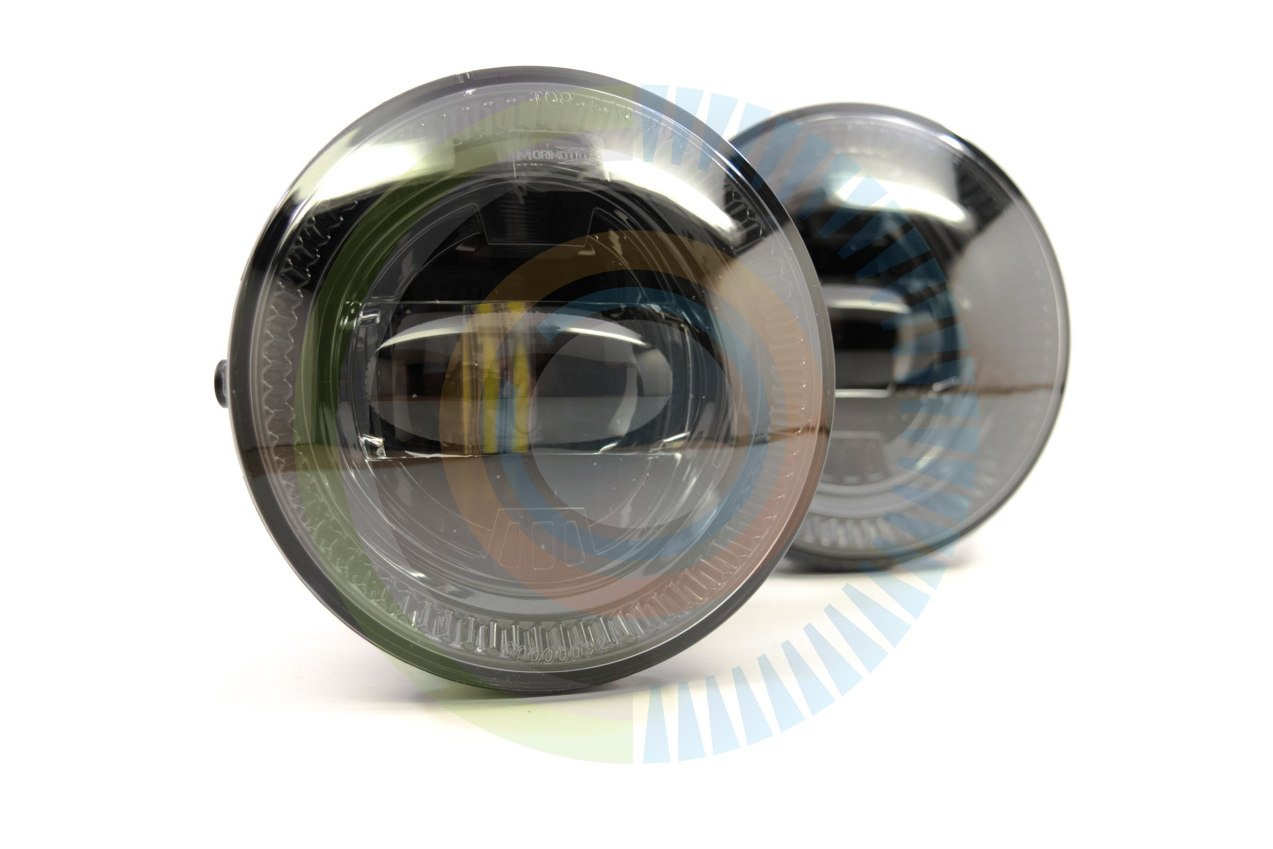 Morimoto XB LED Fog Lights - Toyota (Round)