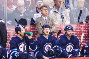 Winnipeg Jets head coach Claude Noel. SHAWN COATES PHOTO