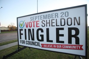 Winnipeg Election Signs
