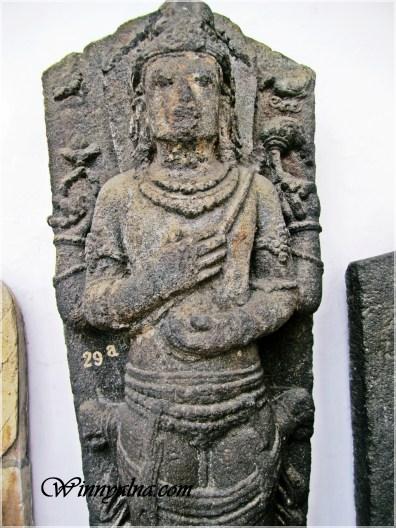 Patung Dewa Hindu di Museum Nasional