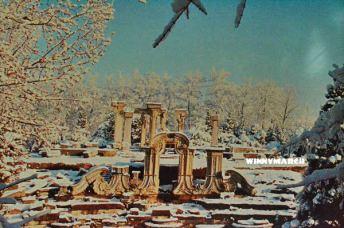 Old Summer Palace Ruins of Yuanmingyuan Beijing