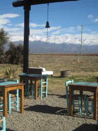View from La Azul Restaurant