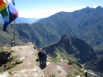 Top of Cerro Machu Picchu trail
