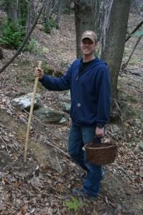 Matt the mushroom hunter