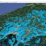 ゲリラ豪雨や集中豪雨に備えて、家の付近の「土砂災害危険箇所」をグーグルアース(Google Earth) で見ておこう!「広島県編」
