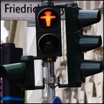 Photographies à Berlin, Allemagne, avril 2015, Ampelmann by © Hatuey Photographies