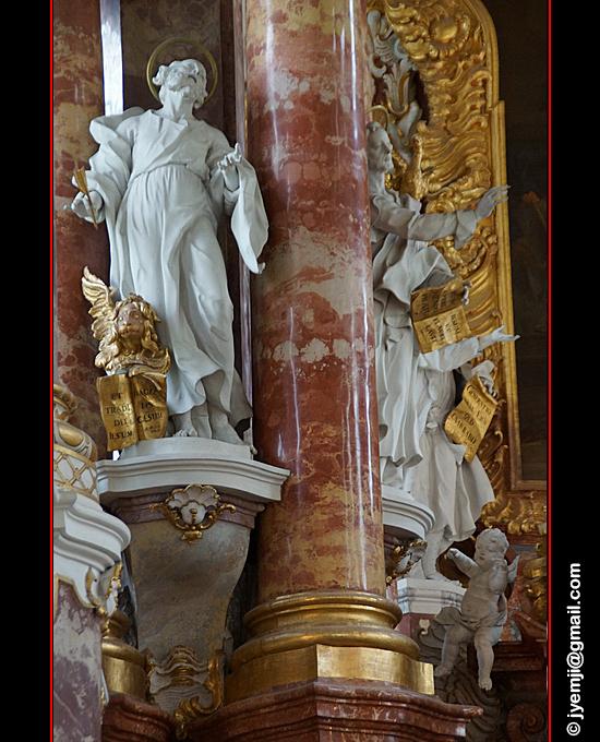 Baviere_Eglise de Wies, Allemagne par Hatuey Photographies