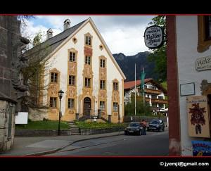 Village d'Oberammergau (Allemagne, Bavière) Photographies de Lüftlmalerei by © Hatuey Photographies