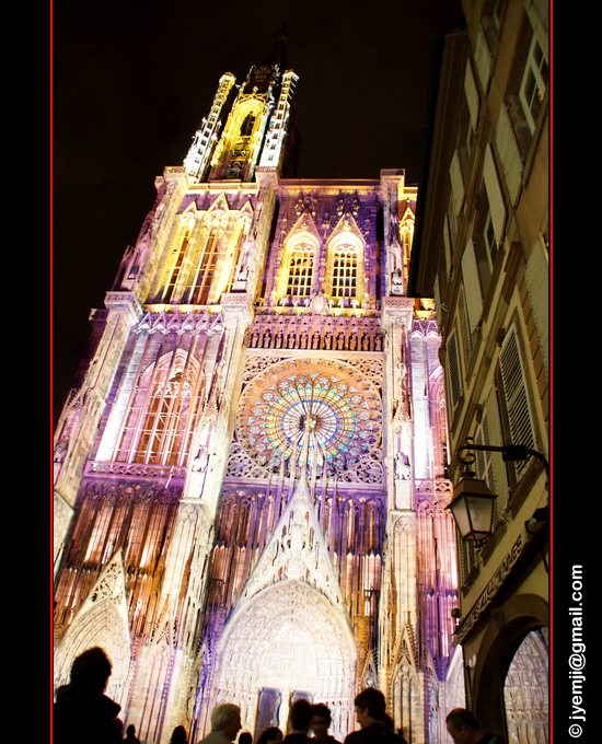 Photographies des Illuminations de la Cathédrale de Strasbourg par © Hatuey Photographies