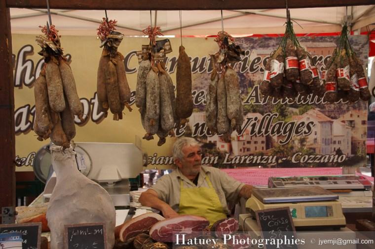 Corse du Sud Ajaccio, Marché d'Ajaccio, © Hatuey Photographies