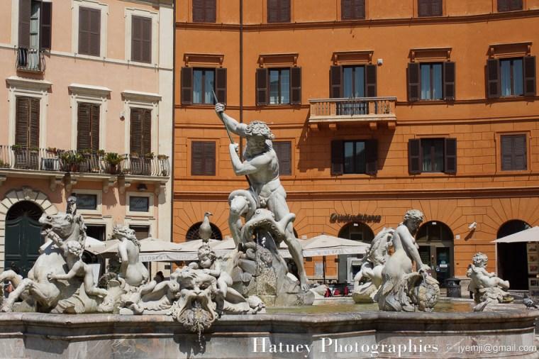 Rome Piazza Di Navona © Hatuey Photographies