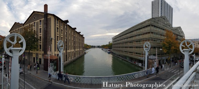 Paris, Photographies de Paris, Canal de l'Ourq par © Hatuey Photographies © jyemji@gmail.com
