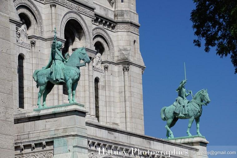 Paris, Photographies de Montmartre - Basilique du Sacré Coeur par © Hatuey Photographies © jyemji@gmail.com