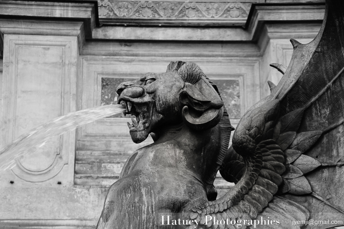 Fontaine Saint Michel Paris 2014. Photographies de Paris par © Hatuey Photographies